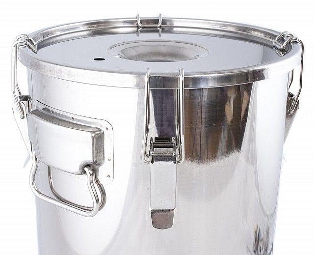 Garnek, gar 30 litrów ze stali nierdzewnej zdjęcie 1