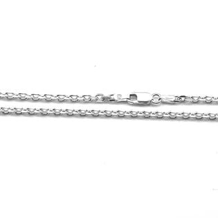 Łańcuszek srebrny ankier 55 cm