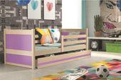 Łóżko RICO dla dzieci pojedyncze dla jednej osoby 190x80 + MATERAC zdjęcie 11