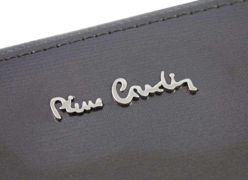 Saszetka podwójna damska Pierre Cardin, kolor grafitowy zdjęcie 9