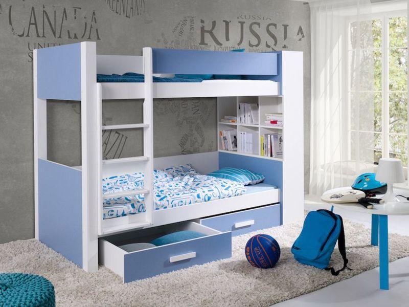 łóżko Piętrowe Meble Dla Dzieci Gaspar Drewniane