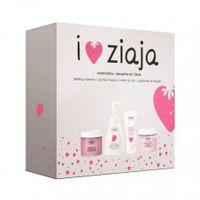 Ziaja I Love Ziaja Marshmallow Peeling do ciała 300ml zestaw upominkowy
