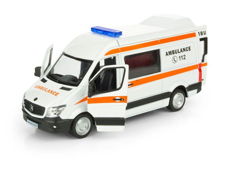 Mercedes Benz Sprinter Ambulans Ratunkowy zdjęcie 3
