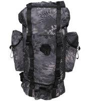 Duży plecak BW turystyczny 65 l snake black