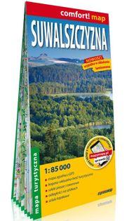 Suwalszczyzna laminowana mapa turystyczna 1:85 000