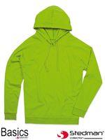 Bluza z kapturem dla mężczyzn i kobiet SST4200 KIW - 3XL