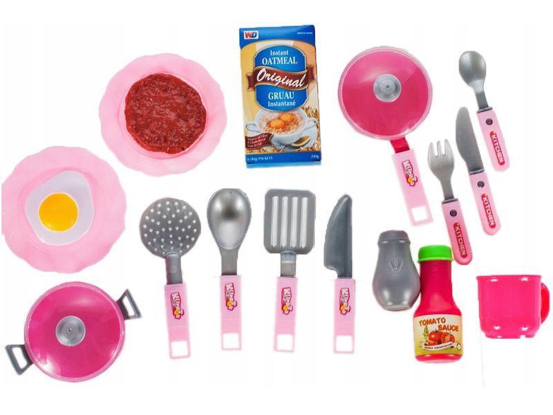 Kuchnia dla dzieci Piekarnik Zlew + Akcesoria Y162Z zdjęcie 7