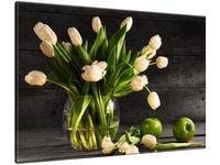 Obraz Kremowe tulipany 100x70 GRATISY