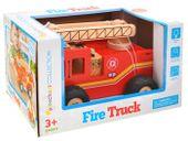 WIELKA Straż Pożarna wóz strażacki DREWNO ZA1809 zdjęcie 10
