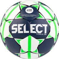 Piłka ręczna Select Force DB Senior 3 EHF 2019 biało-granatowo-zielona 16158