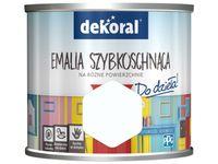 Farba Dekoral Akrylux Emalia szybkoschnąca (0.2 l, Białe szaleństwo)