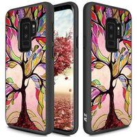 Zizo Sleek Hybrid Design Cover - Etui Samsung Galaxy S9+ (Colorful Tree)