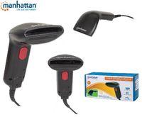 Skaner kodów kreskowych USB Manhattan IDATA CCD-60U, kontaktowy