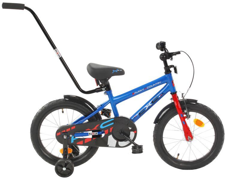 16 cali Rower dla dzieci  FXC Boy Rowerek + GRATIS Prowadnik zdjęcie 1