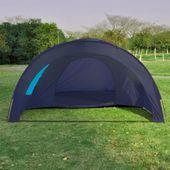 Namiot Turystyczny Dla 6 Osób, Granatowo-Niebieski zdjęcie 6