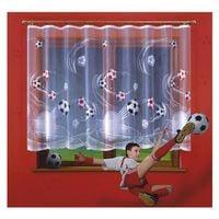 Firanka Futbol wysokość 170 cm - Firanki na metry   WN6223 170