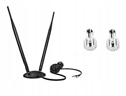 ANTENA DUAL LTE 10dB Huawei ZTE CRC9 TS9 TS5 E3372