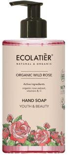Ecolatier rose mydło do rąk