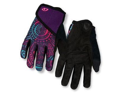 Rękawiczki juniorskie GIRO DND JR II długi palec blossom roz. S (obwód dłoni 142-152 mm / dł. dłoni 155-160 mm) (NEW)