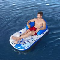 Lumarko Materac basenowy Hydro-Force, 161 x 84 cm, niebieski!