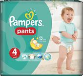 Pampers Pants 4 (9-14 kg) Carry Pack pieluchomajtki 24 szt.