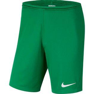 Spodenki dla dzieci Nike Dry Park III NB K zielone BV6865 302