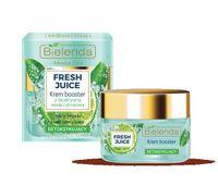 Bielenda Fresh Juice Krem-Booster Detoksykujący Z Wodą Cytrusową Limonka 50Ml