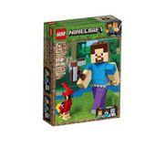 LEGO MINECRAFT BigFig Steve z papugą 21148