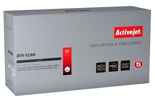 Toner Activejet ATH-51AN (zamiennik HP 51A Q7551A; Premium; 6500 stron; czarny) na Arena.pl