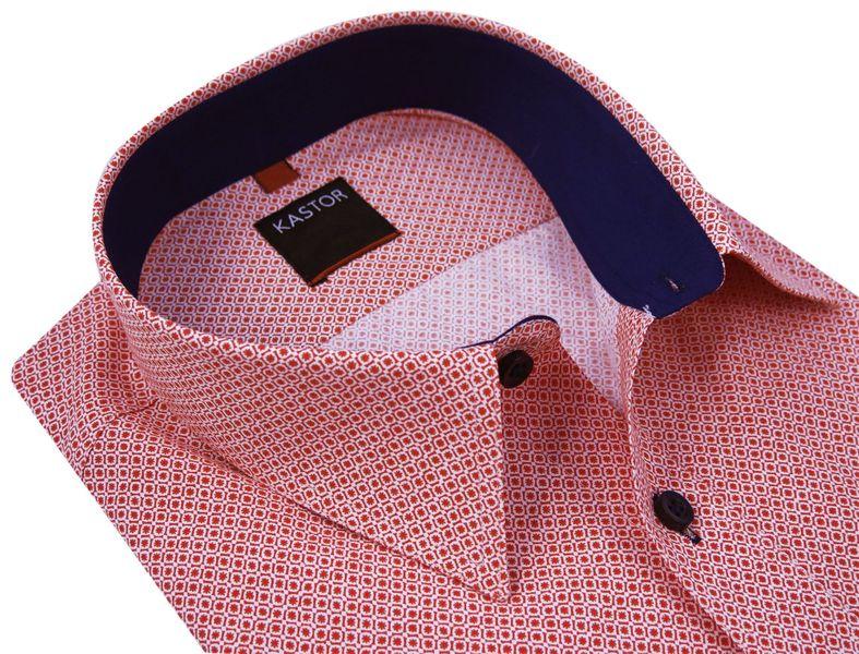 Koszula męska w unikatowy wzór K34 Rozmiar koszuli i fason  d3rHu