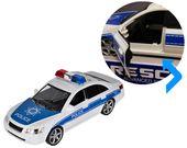 Samochód policyjny Radiowóz interaktywny dźwięki i światła Y260 zdjęcie 10