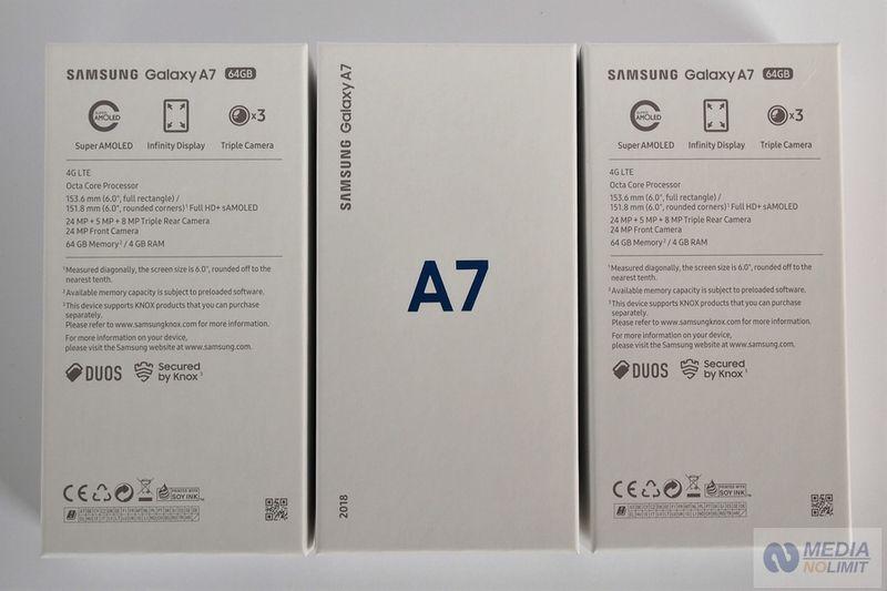 Samsung A7 (2018) Duos Gold Fabrycznie Nowe FV VAT 23% Gw 24 Mies. zdjęcie 4