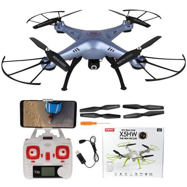 Dron Syma X5HW kamera Wi-Fi funkcja zawisu Niebieski Y142N zdjęcie 11