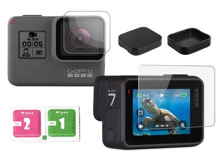szkło hartowane ochronne do kamer sportowych GoPro Hero 5 6 7