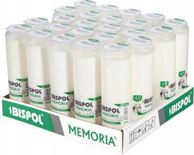 Wkłady do zniczy olejowe BISPOL WO6 108H 24szt.