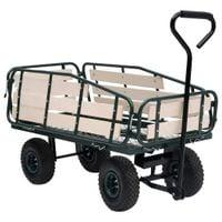 Lumarko Ogrodowy wózek ręczny, metal i drewno, 250 kg!