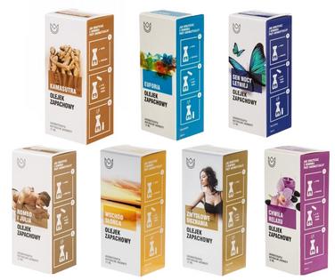 Zestaw Smart - 7 zmysłowych olejków zapachowych