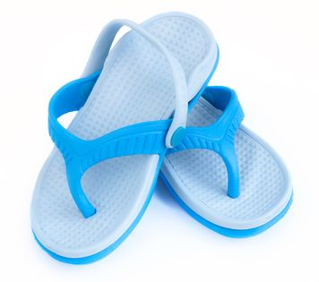 Klapki basenowe ROMA Rozmiar - Klapki - 24, Kolor - Klapki - Roma - 01 - niebieski