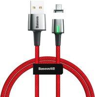 KABEL MAGNETYCZNY BASEUS ZINC USB-C 2A 2M CZERWONY