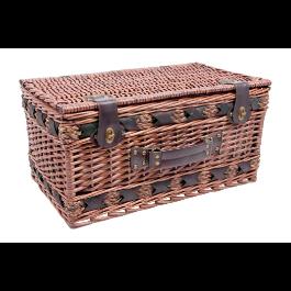 Wiklinowy Kosz piknikowy Luksus dla 4 osób zdjęcie 2