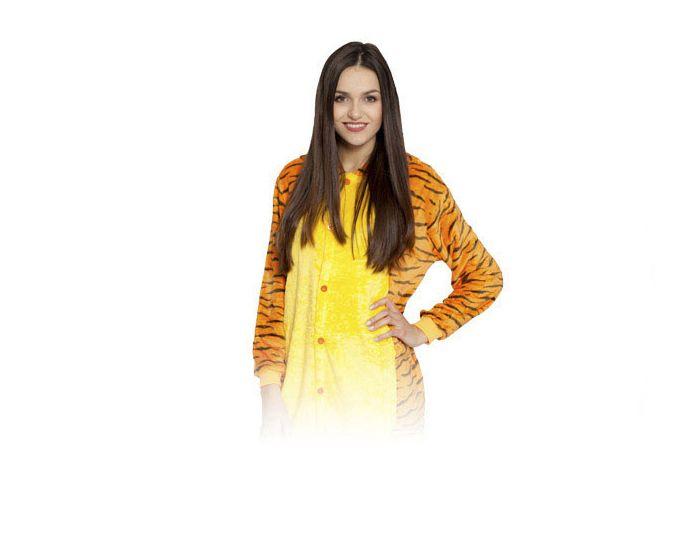 Tygrys Kigurumi Onesie dres piżama kombinezon L zdjęcie 1