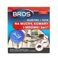 Bros Elektro na muchy, komary i mrówki 3w1