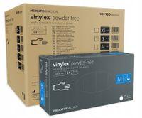 Rękawice winylowe vinylex powder-free M karton 10 x 100 szt