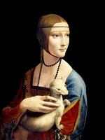Reprodukcje obrazów Dama z gronostajem - Leonardo da Vinci Rozmiar - 80x60