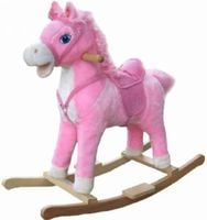 Koń konik na biegunach  interaktywny BABY MIX