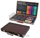 Mega Zestaw Malowania Rysowania Walizka Farby 81el 6072 zdjęcie 4