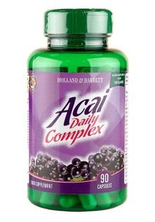 Acai Daily Complex, 1000mg - 90 caps Holland & Barrett