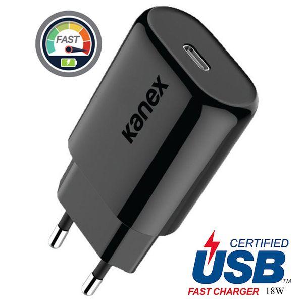Kanex GoPower - Ładowarka sieciowa USB-C (Power Delivery) 18 W (Black) zdjęcie 1