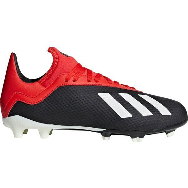 Buty adidas X 18.3 FG J BB9370 Kolor czarny Rozmiar EUR 36 23