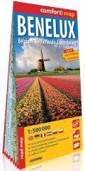 Comfort! map Benelux 1:500 000 w.2020 praca zbiorowa